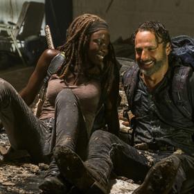 Kadr z serialu The Walking Dead