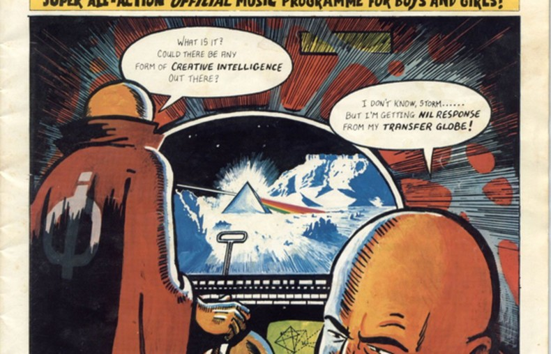 1 - komiks Pink Floyd
