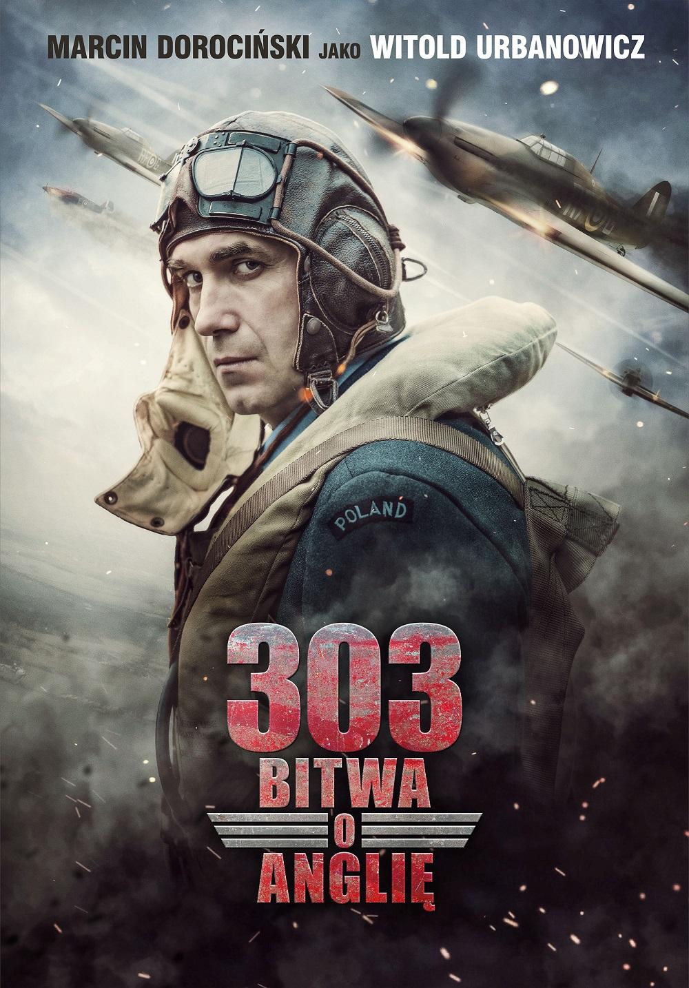 "plakat ""303. Bitwa o Anglię"""