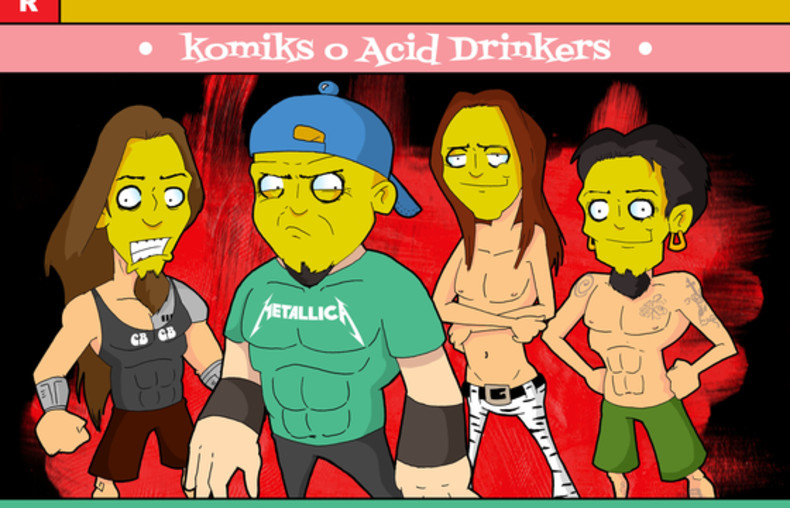 Acid Drinkers 1/86