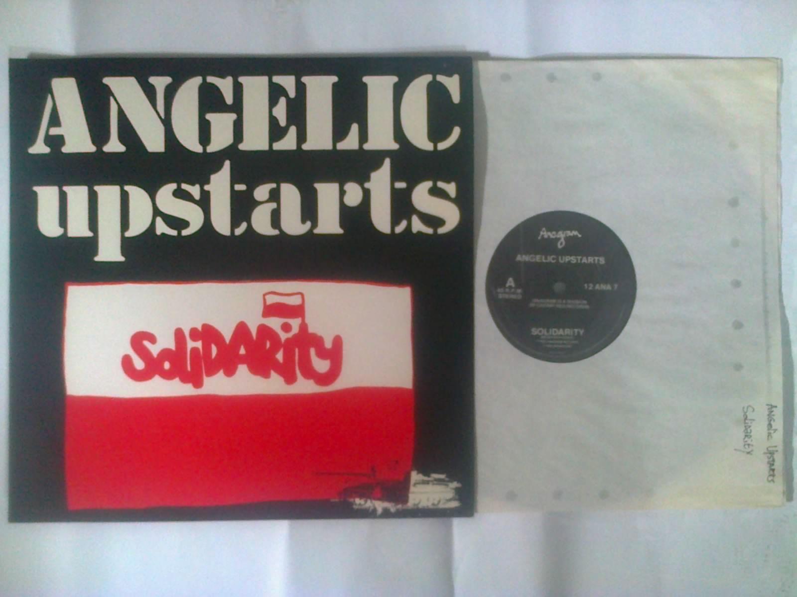 ANGELIC UPSTARTS - okładka płyty