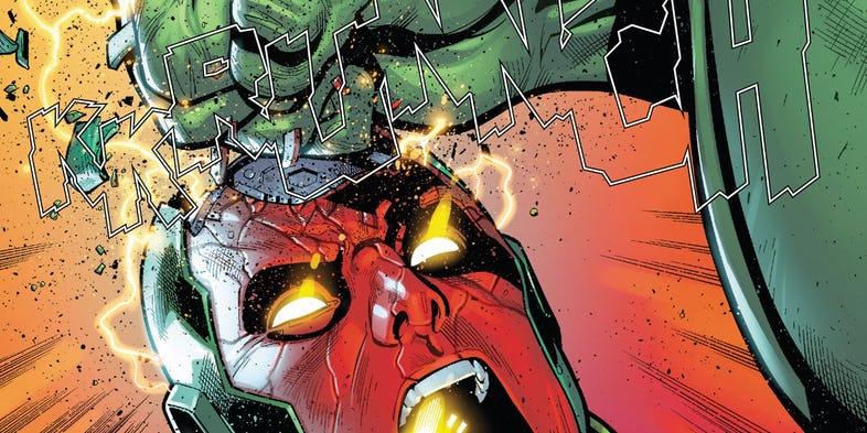 Avengers #685 -kadr z komiksu