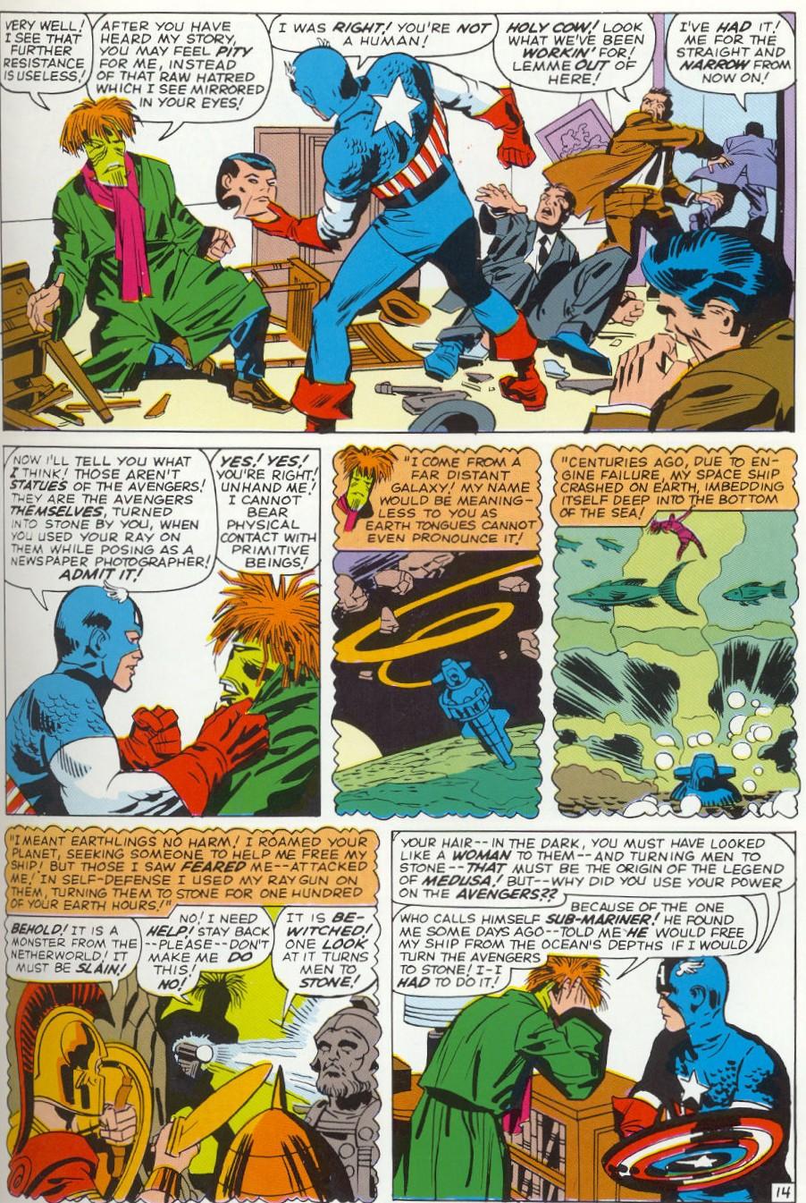 Avengers vol. 1 #4