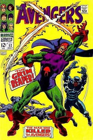 Avengers vol. 1 #52 - okładka