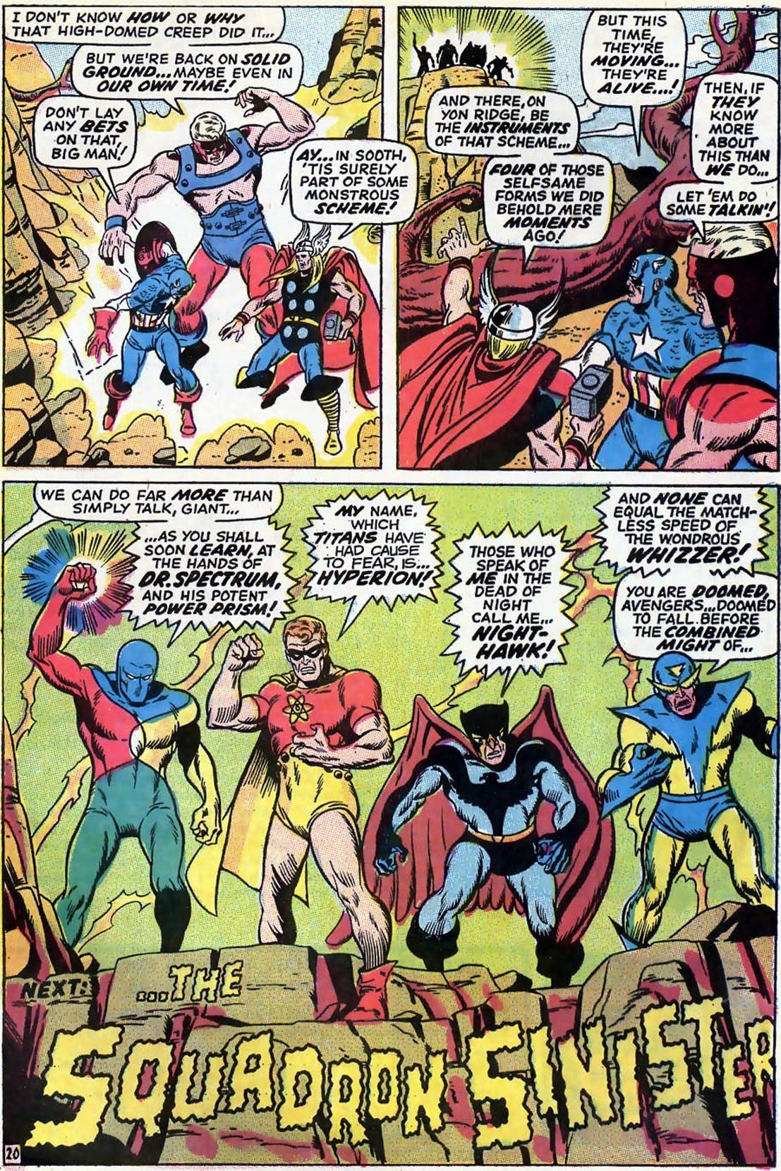 Avengers vol. 1 #69