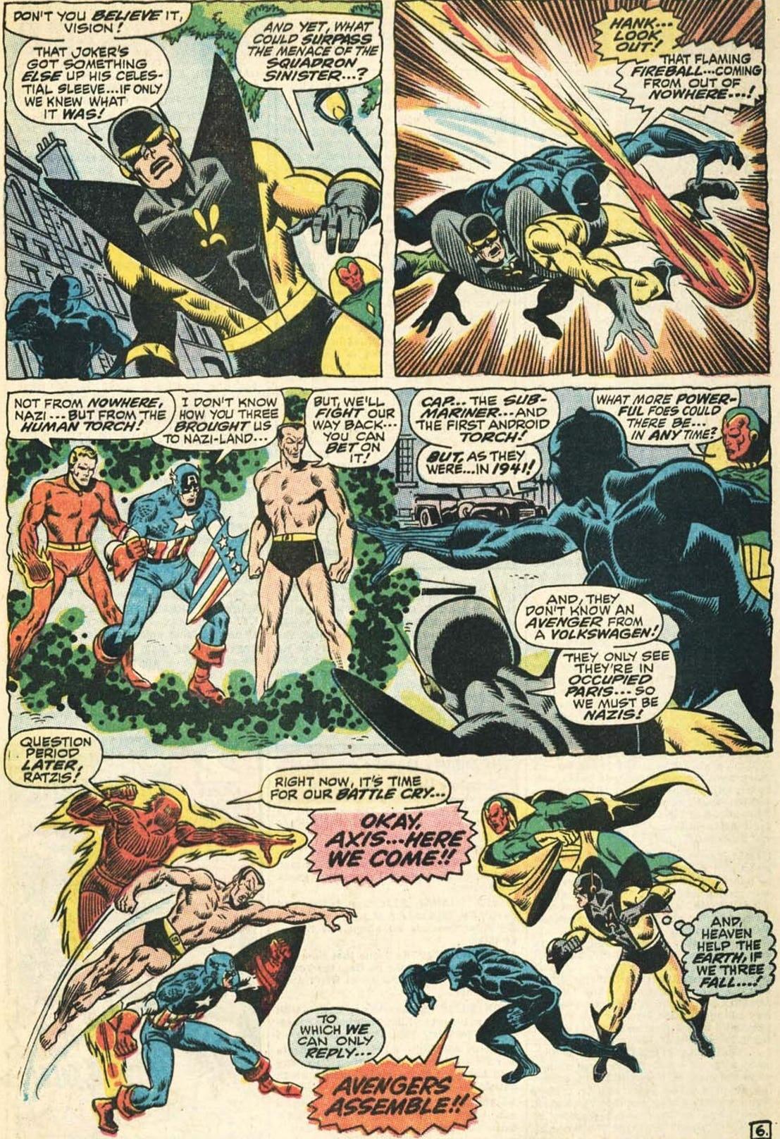 Avengers vol. 1 #71