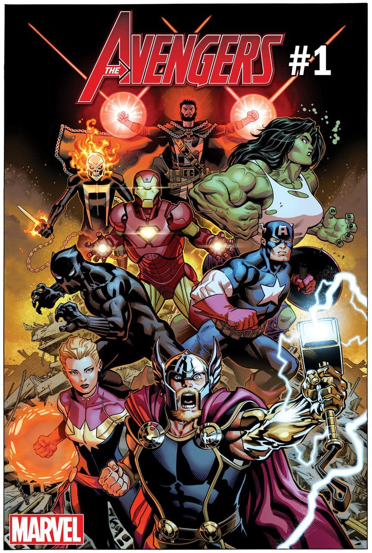 Okładka Avengers vol. 8 #1