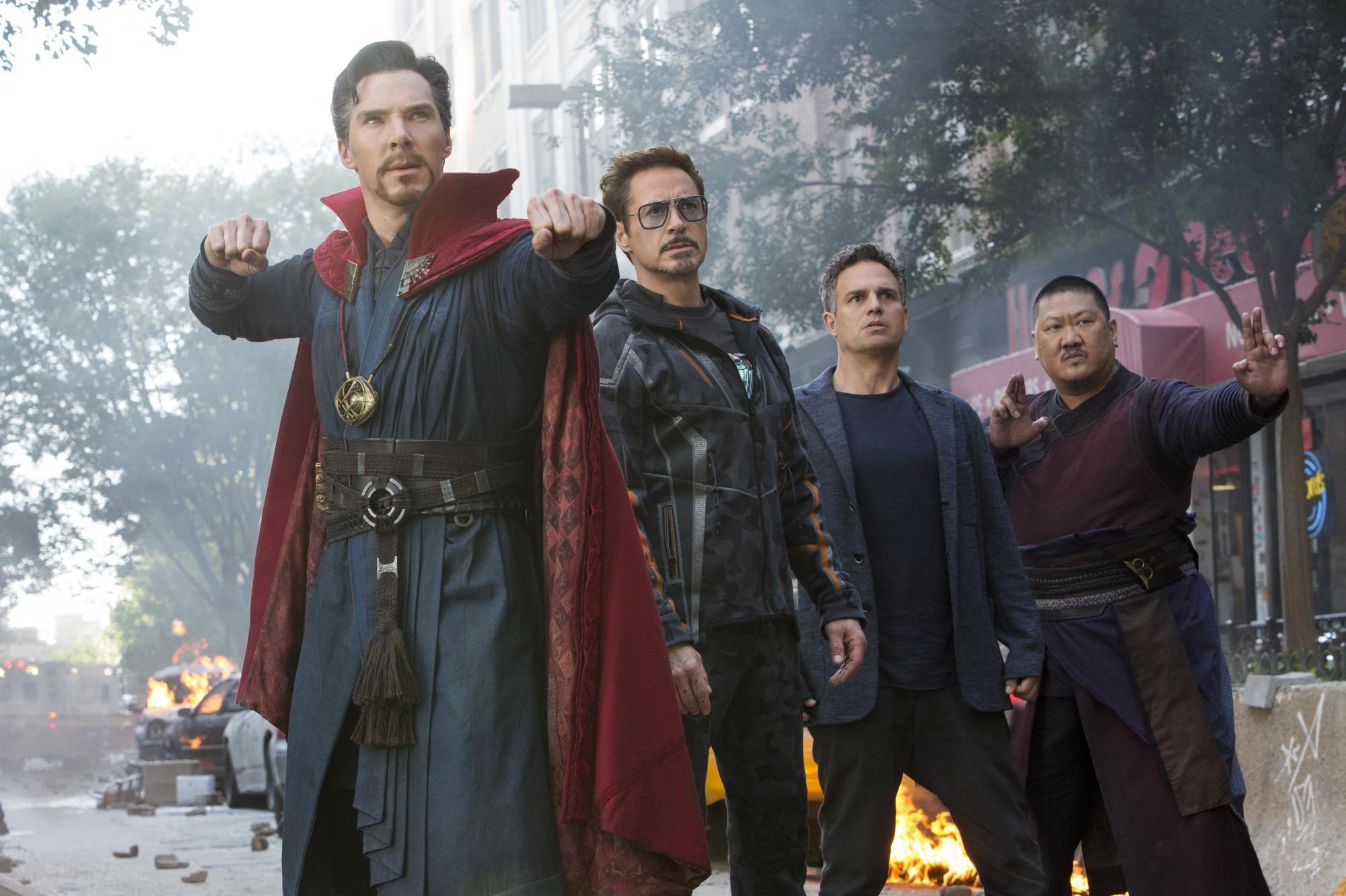 Avengers Infinity War na DVD i Blu-Ray