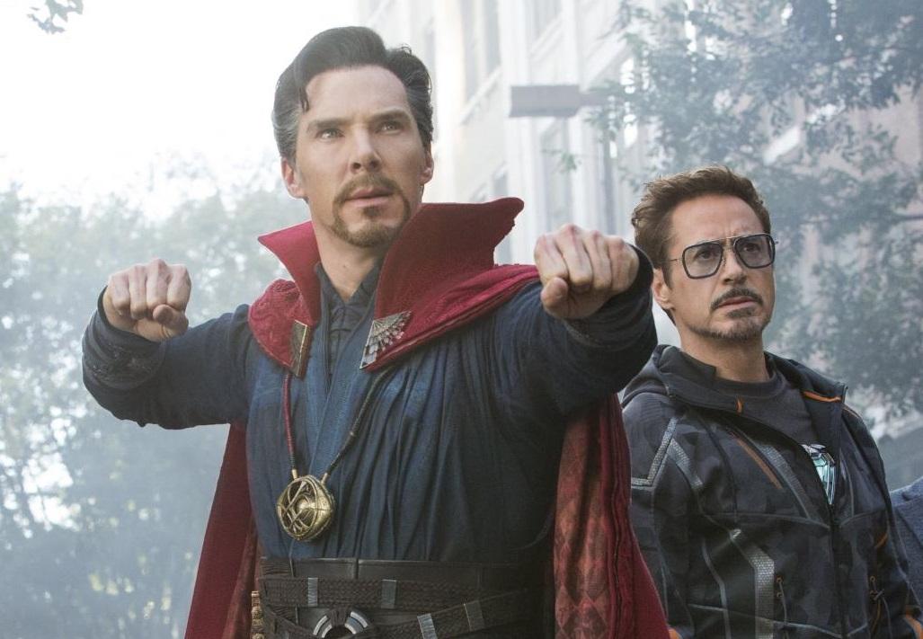 Dr Strange i Iron Man
