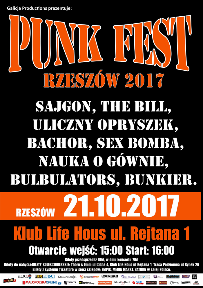 b1  punk fest 2017 RZESZOW