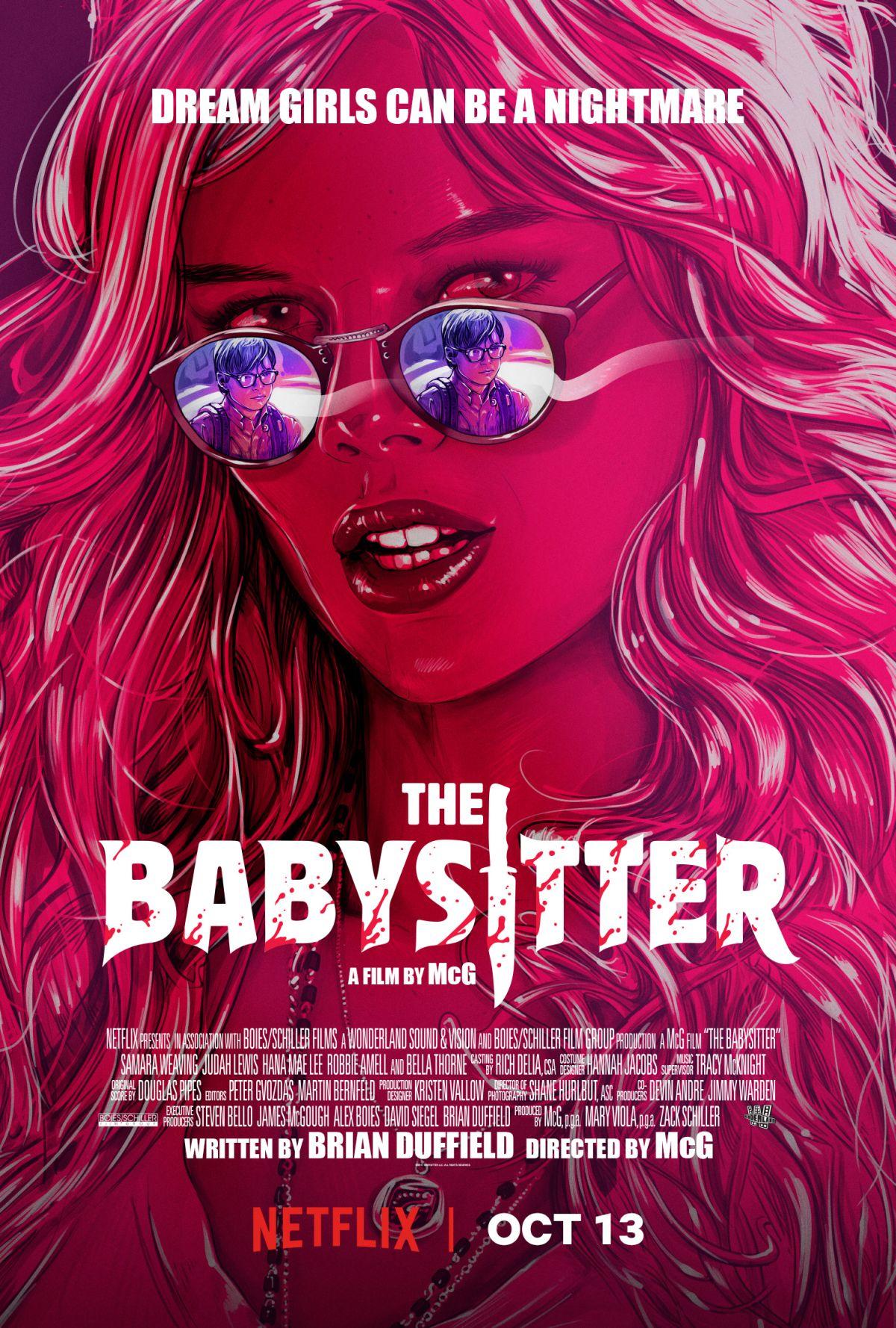 Babysitter plakat