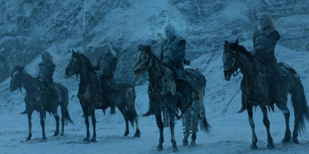 """Biali Wędrowcy, foto: kadr z odcinka """"Gry o tron"""""""