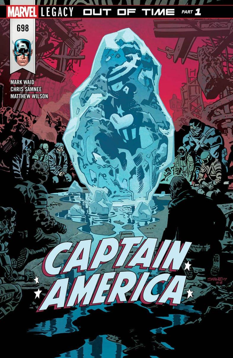 Captain America #698, 2018