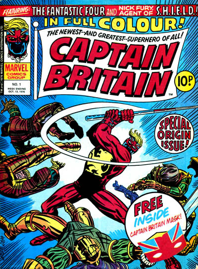 Captain Britain vol. 1 #1