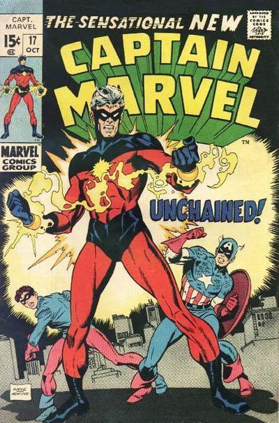 Captain Marvel #17, 1969