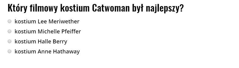 Catwoman ranking