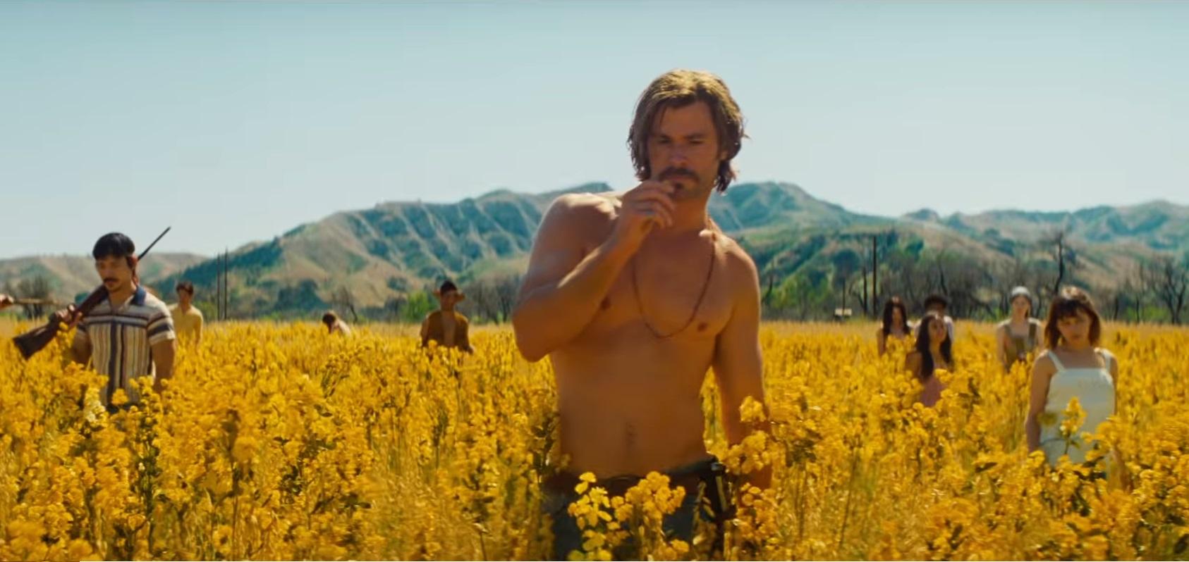 Chris Hemsworth at El Royale