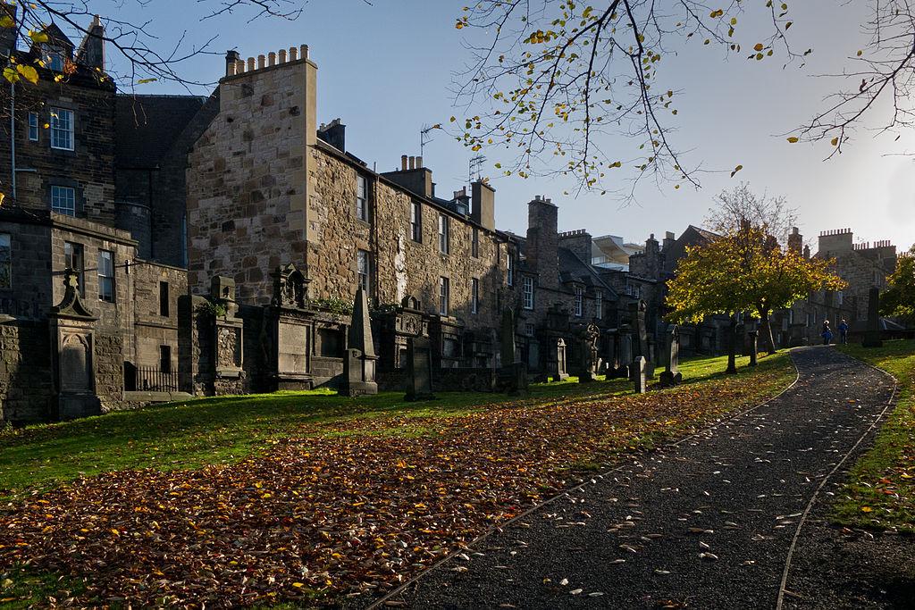 Cmentarz w Edynburgu
