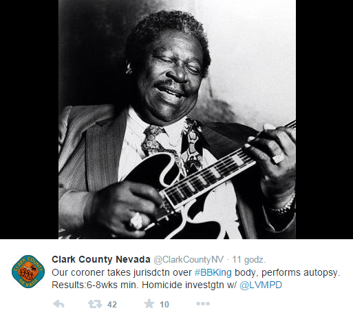 County Nevada BB King