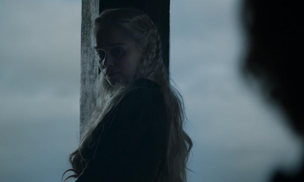 """Daenerys Targaryen, foto: kadr z 5. odcinka 8. sezonu """"Gry o tron"""""""