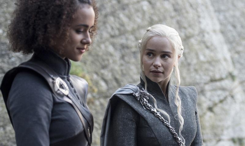 Daenerys i Missandei