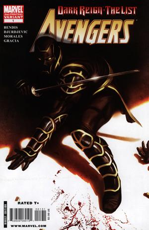Dark Reign The List Avengers vol. 1 nr 1