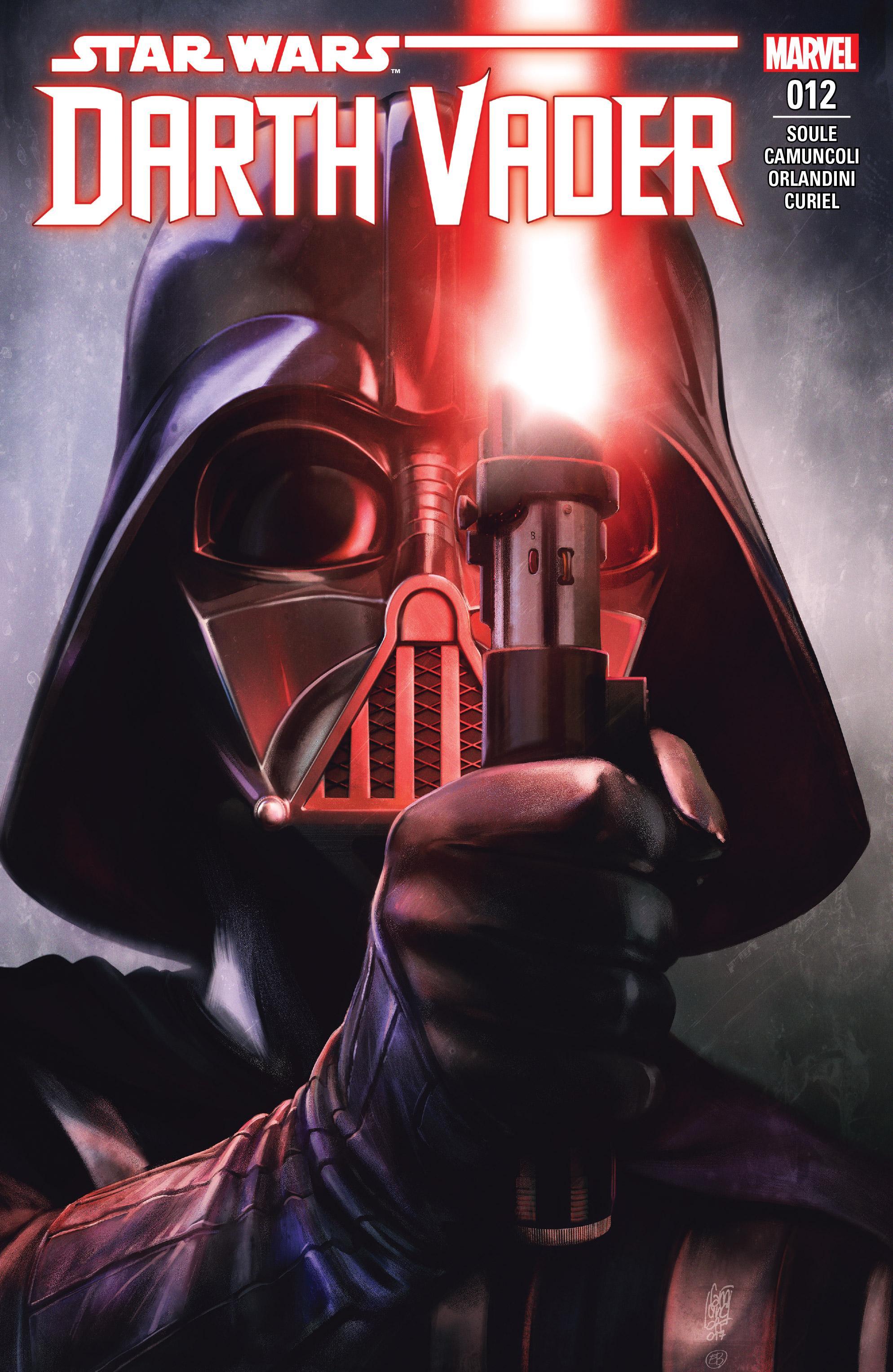 Okładka Darth Vader: Dark Lord of the Sith 12: The Rule of Five, Part II