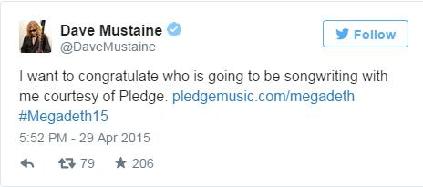 Dave Mustaine Twitter