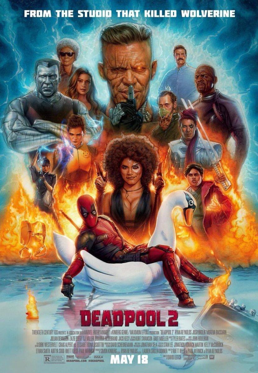 Deadpool 2 plakat