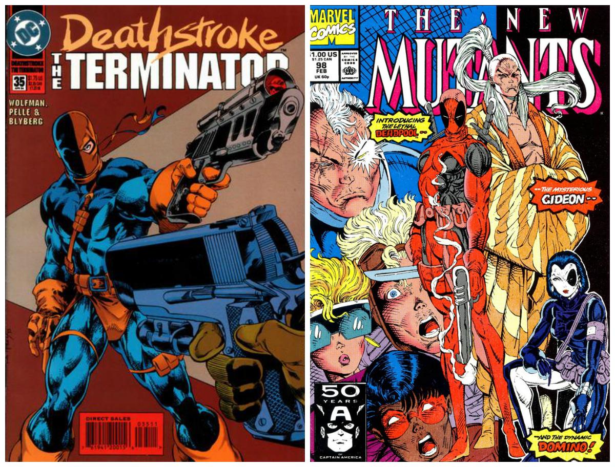 Deathstroke i Deadpool