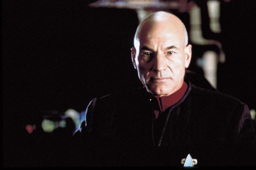 Patrick Stewart jako Picard