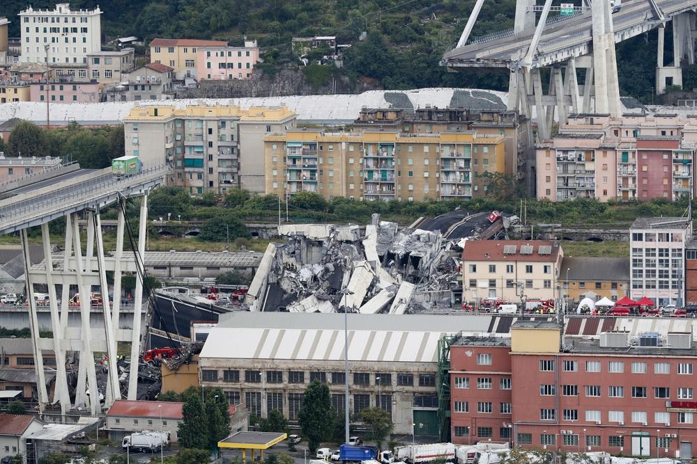 Katastrofa w Genui