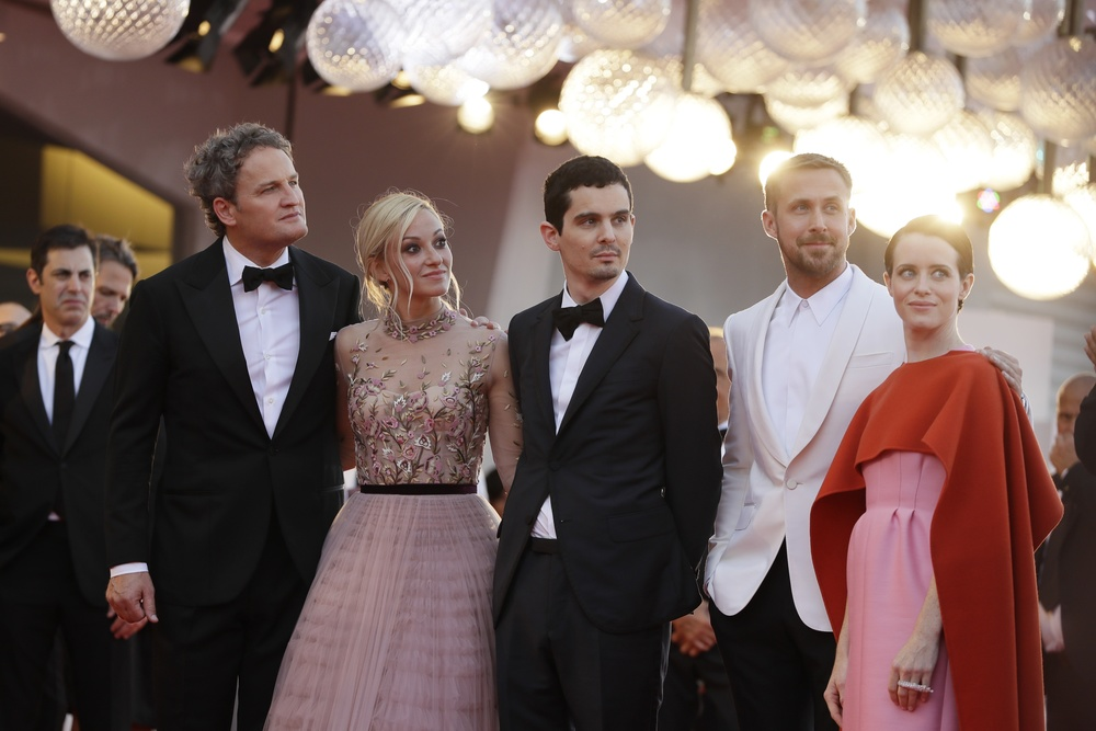 First Man cast and director