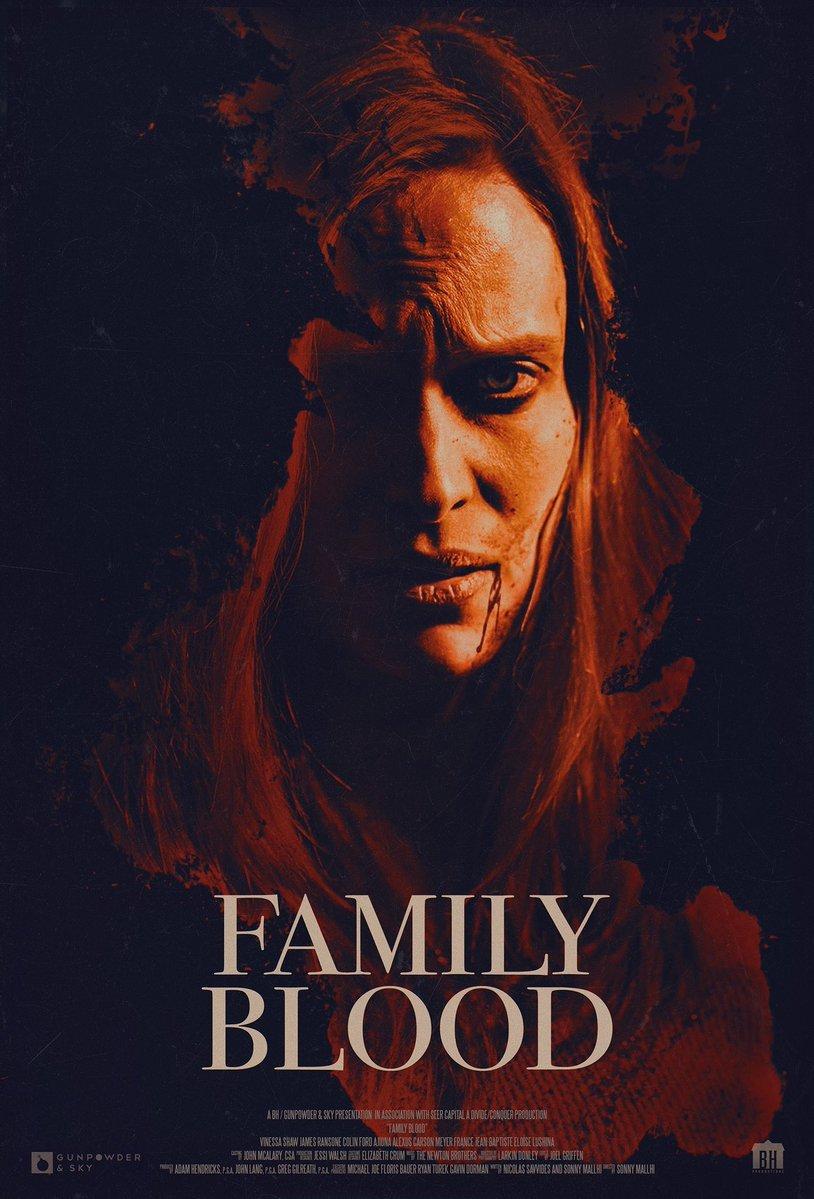 Family Blood - plakat