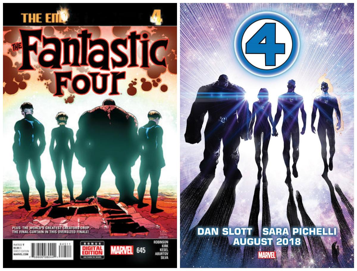 Fantastic Four #645 i powrót Fantastycznej Czwórki