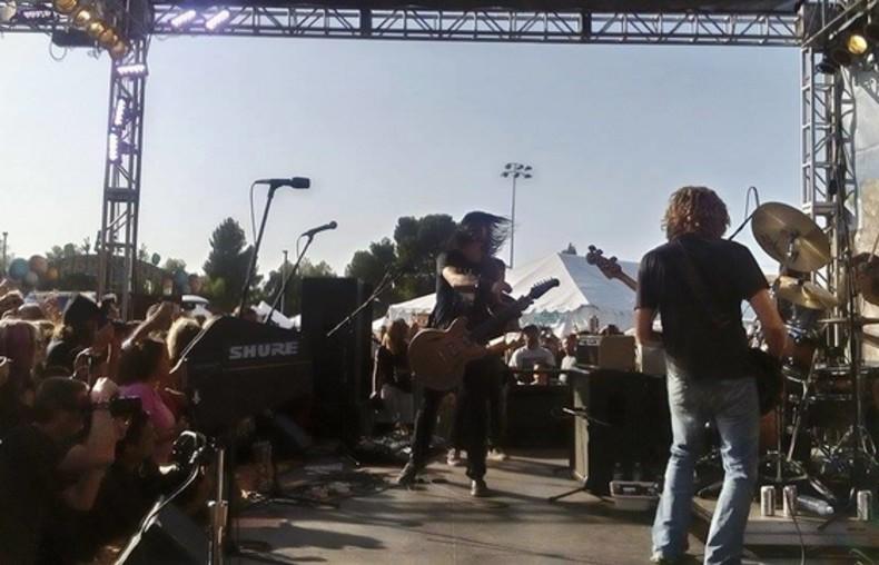 Foo Fighters i polscy fani 1/15