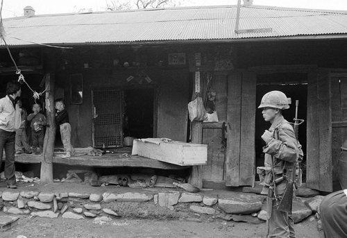 Jeden z domów, w których Woo Bum-Kon dokonał masakry