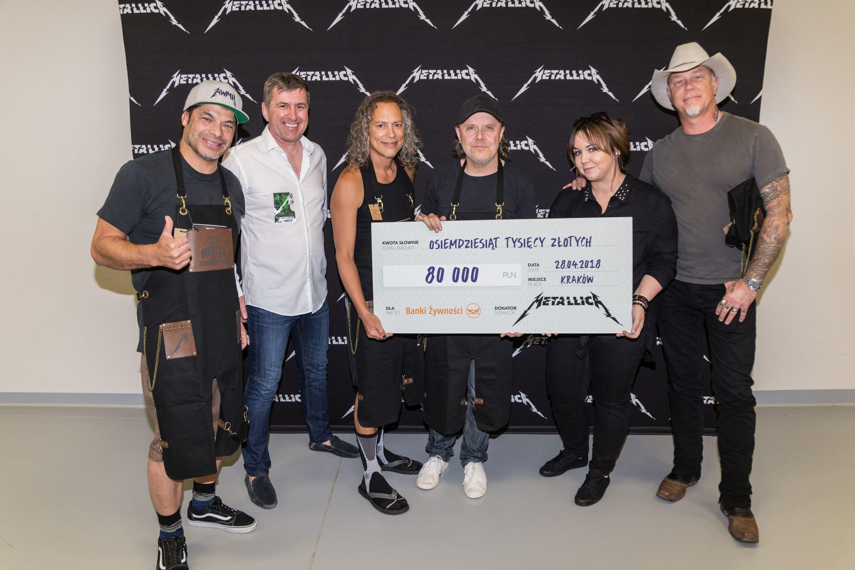 fot. Metallica & Banki Żywności
