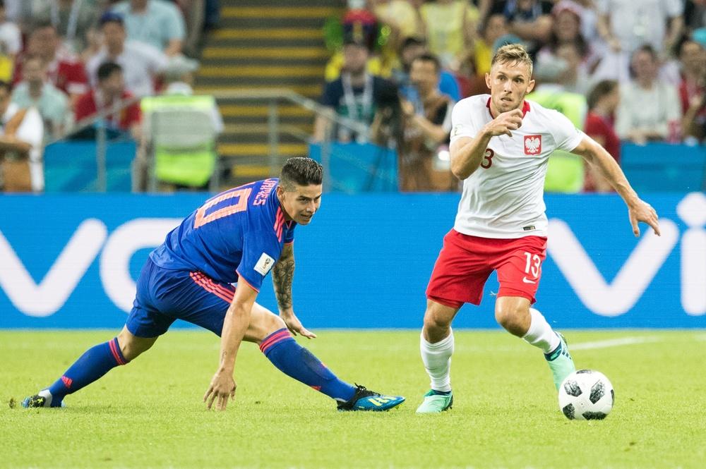 Maciej Rybus vs Kolumbia