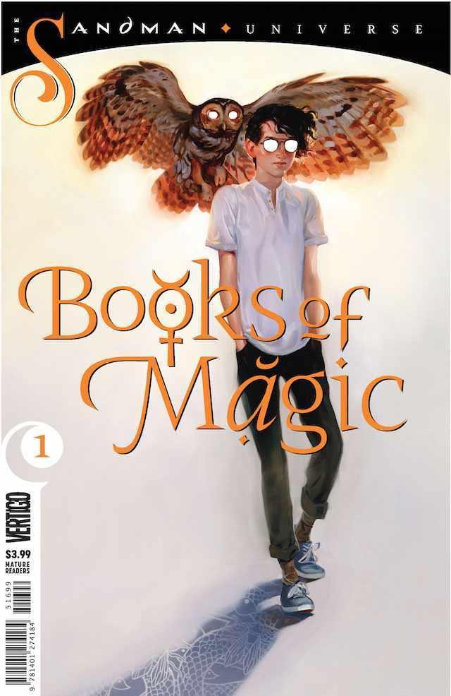 Okładka Sandman: Books of Magic