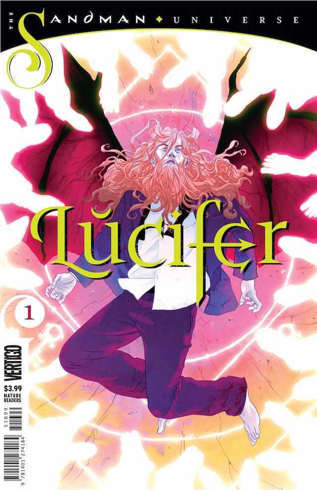 Okładka Sandman: Lucifer