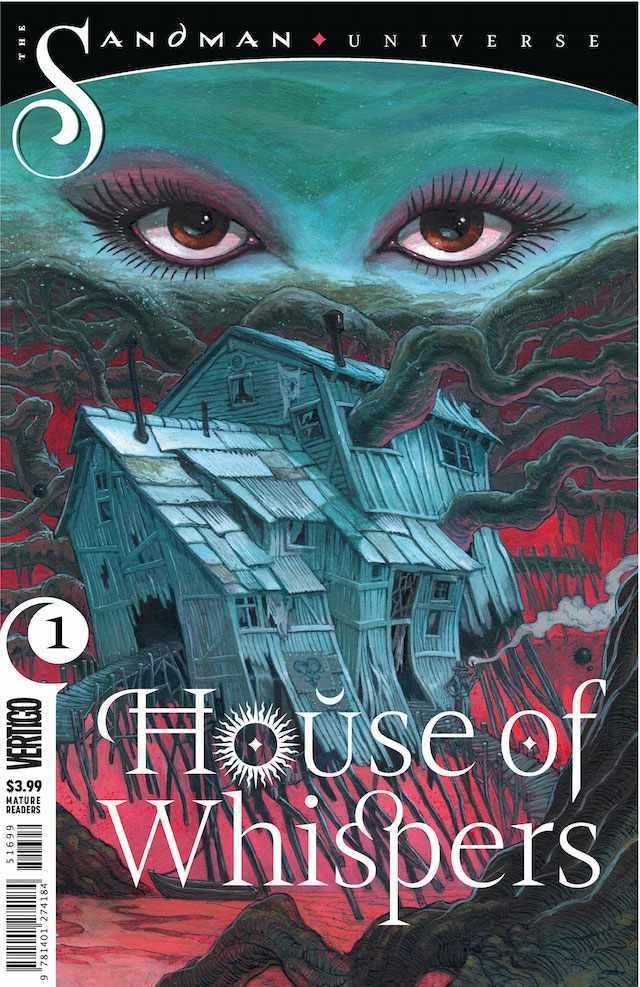 Okładka Sandman: The House of Whispers