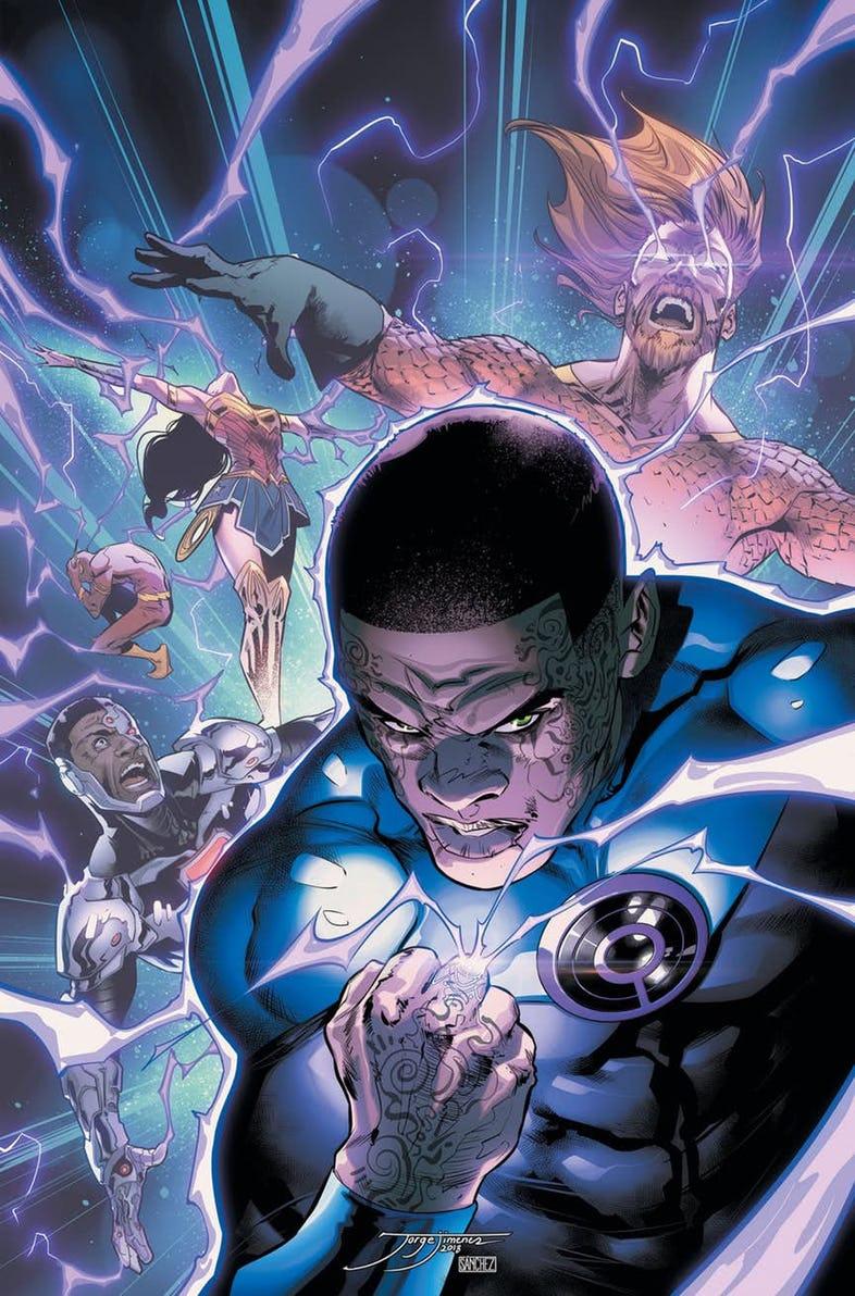 Okładka Justice League #3 (2018)