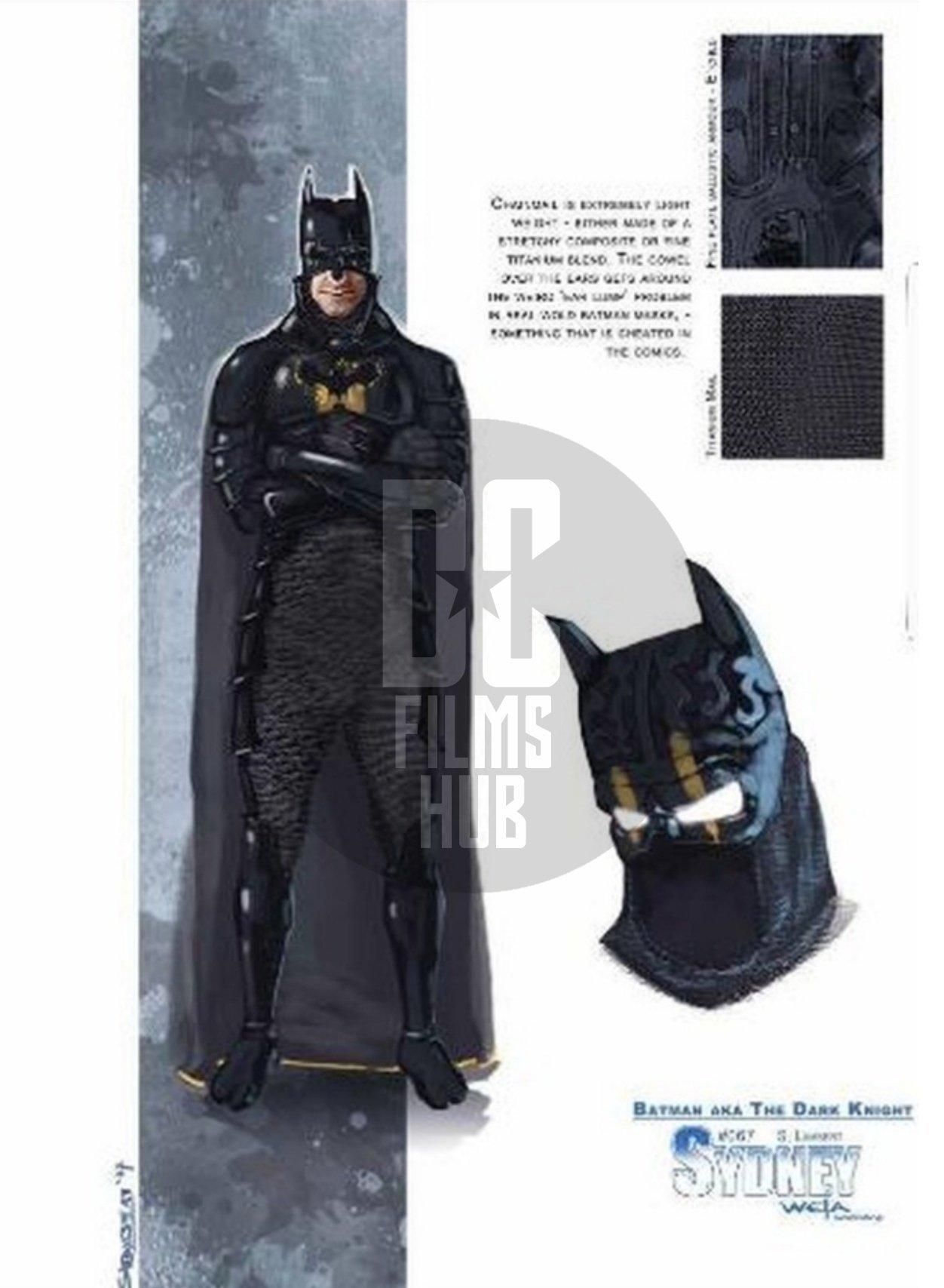Concept Art Batman