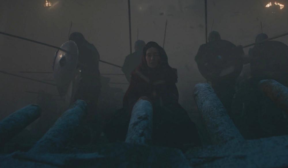 """Foto: Kadr z 3. odcinka 8. sezonu """"Gry o tron"""""""