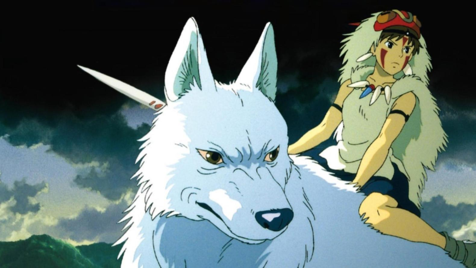 Księżniczka Mononoke i wilk
