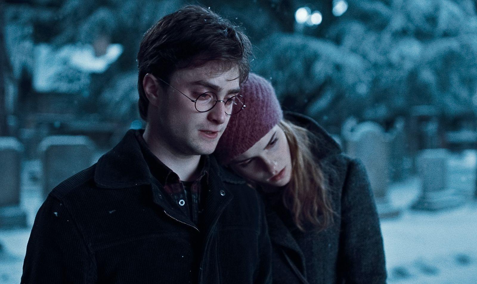 """Foto: kadr z filmy """"Harry Potter i Insygnia Śmierci: Część I"""" / Warner Bros."""