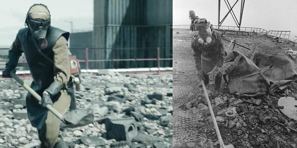 """Foto: kadr z miniserialu """"Czarnobyl""""; SPUTNIK/EAST NEWS"""