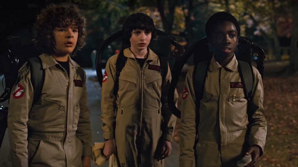 "Foto: kadr z serialu ""Stranger Things"""