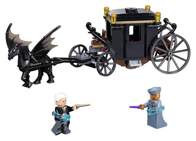 Zestaw LEGO Grindelwald's Escape